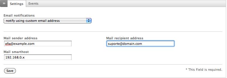 habilitar smtp linux: